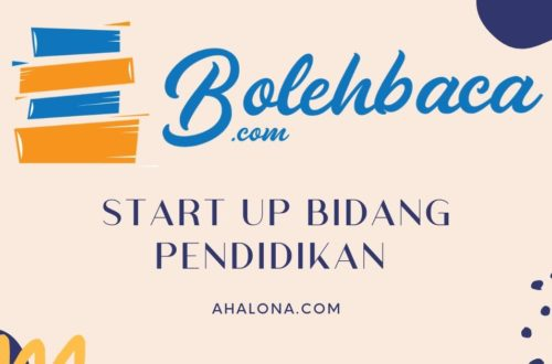 Bolehbaca start up pendidikan